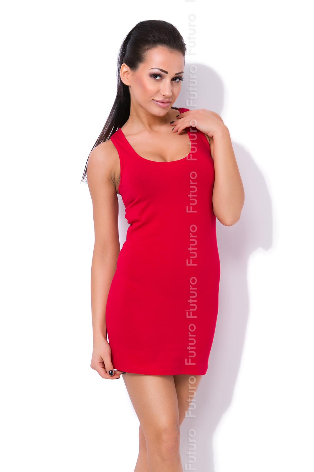 Womens Summer Casual Vest Tank Top Plain Boxer T-Shirt One Size 8-12 FT1003