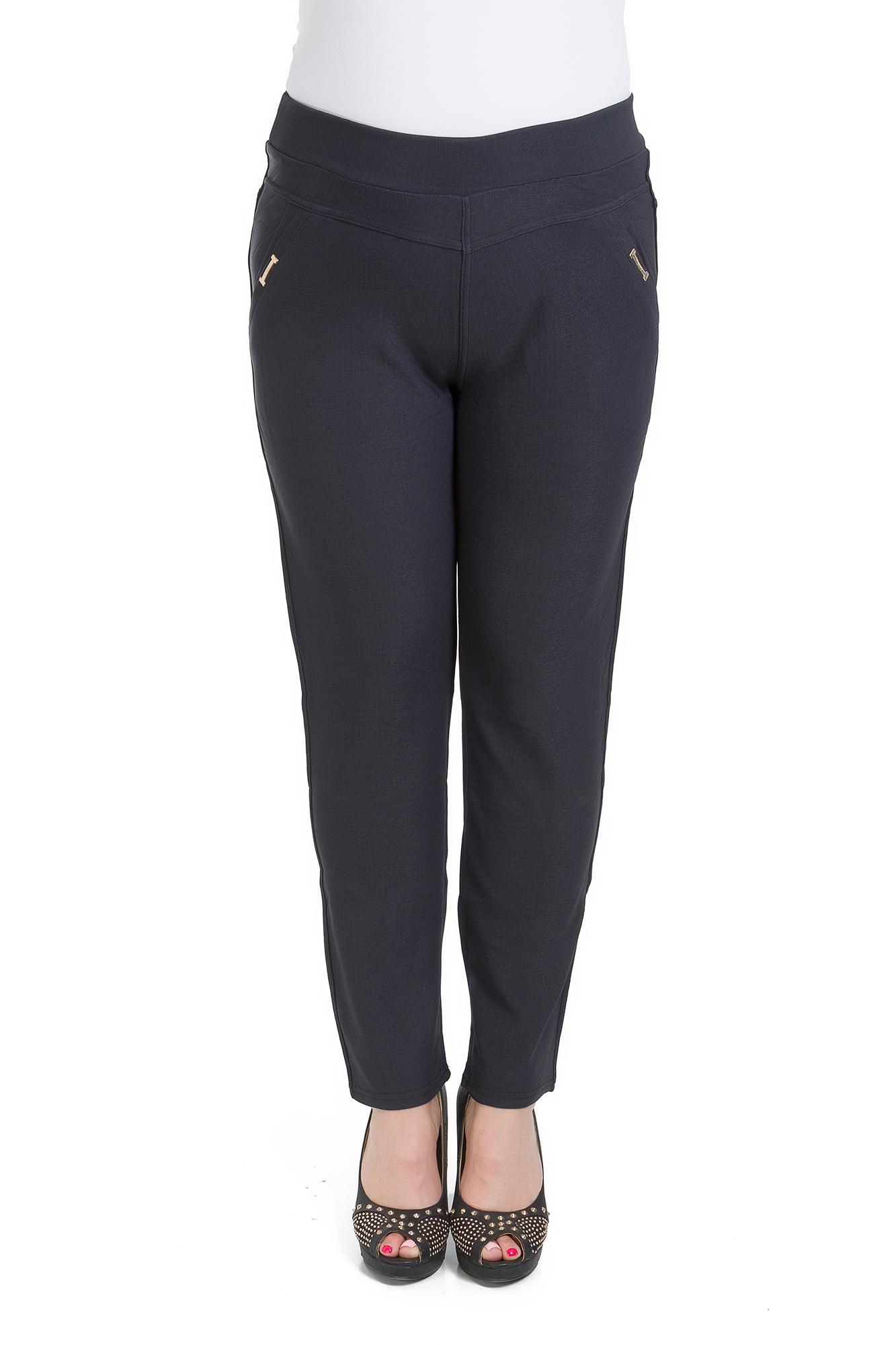 Womens High Waisted Stretch Trousers Pockets Straight Leg Pants 2XL-6XL KZY-W012